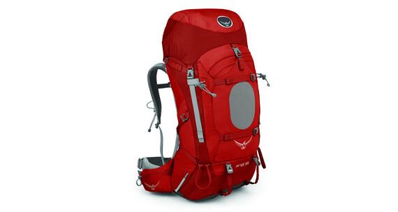 Mochila de trekking Osprey Ariel 65 S rojo para mujer